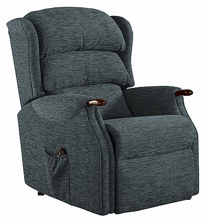 Vale Furnishers - Wiltshire Standard Fabric Recliner. Click for larger image.