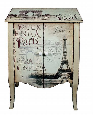 Vale Furnishers - Paris Small Cupboard. Click for larger image.