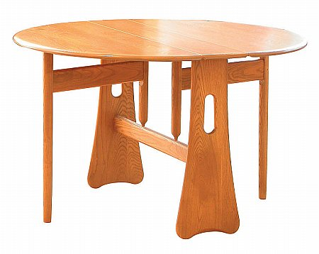 Ercol - Windsor Gate Leg Dining Table. Click for larger image.