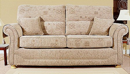 Ideal Upholstery - Washington Settee. Click for larger image.