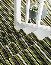 Adam Carpets - Castlemead Velvet Stripe Spring Time - CVS17