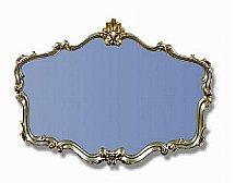 Britannia Mirrors - Shell Header Style Mirror