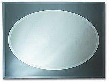 Britannia Mirrors - Grey Oval Mirror