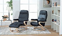 Himolla-Zerostress - Kennet Recliner Chairs