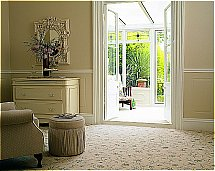 Brintons - Classic Florals Parterre Champagne Broadloom