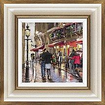Artko - Cafe Street Detail II Framed