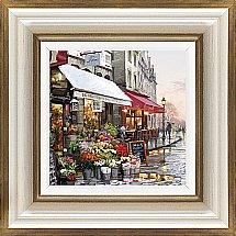 Artko - Paris Street Detail I Framed