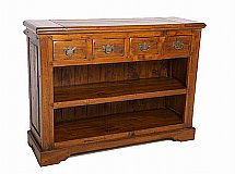 2735/Ancient-Mariner-East-Indies-Open-Bookcase-with-Drawers