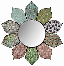 PD Global - Groovy Petals Wall Mirror