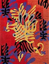Brintons - Matisse Mimosa Red Rug
