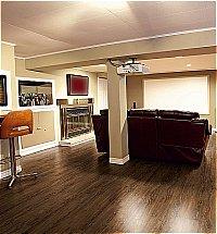 Vusta - Distressed Olive Wood Floor