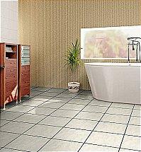 Vusta - White Porcelain Floor