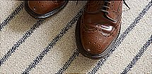 Brockway Carpets - Savile Row Carpet - Cotton Pinstripe