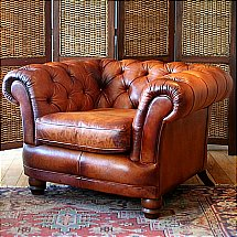 Contrast - Devonshire Leather Chair