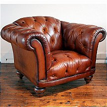 Contrast - Ribchester Leather Chair