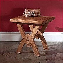 9762/Barkers-Collection/Burgundy-Lamp-Table
