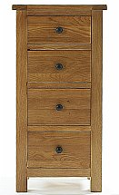 Barrow Clark - Compton 4 Drawer Narrow Chest