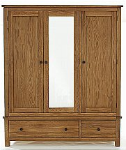 Barrow Clark - Compton Triple Mirror Wardrobe