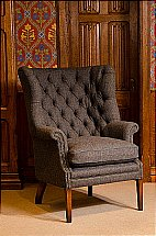 Harris Tweed - MacKenzie Classic Wing Chair