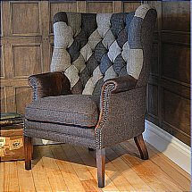 Harris Tweed - MacKenzie Chair