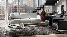 Natuzzi Italia - Tratto 2811 Leather Sofa