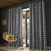 13674/Orla-Kiely/Linear-Stem-Curtains-Charcoal