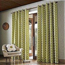 13676/Orla-Kiely/Linear-Stem-Curtains-Olive