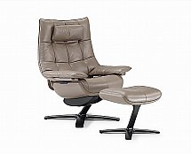 Natuzzi Italia - Revive Quilted King 600K Recliner Chair