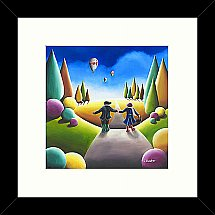 13327/Artko/Love-Is-All-Around-Framed