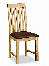 4680/Marshalls-Collection-Troy-Vertical-Slatted-Chair-Brown-PU