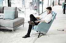 Fama - Kylian Swivel Rocking Chair