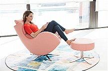 Fama - Lenny Swivel Rocking Chair