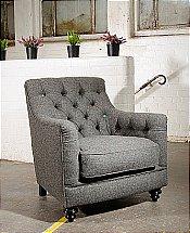 Tetrad - Glencoe Harris Tweed - Chair