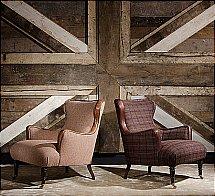 Tetrad - Nairn Harris Tweed - Chair