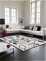 Asiatic Carpets - Laya Leaf Pink Rug