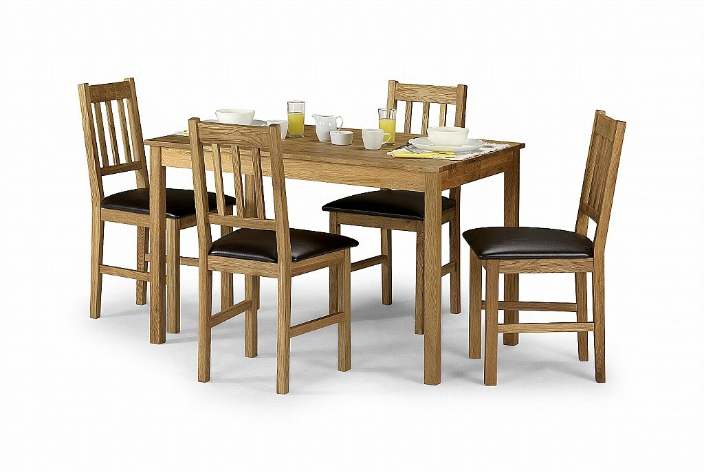 Julian Bowen - Coxmoor Rectangular Dining Table