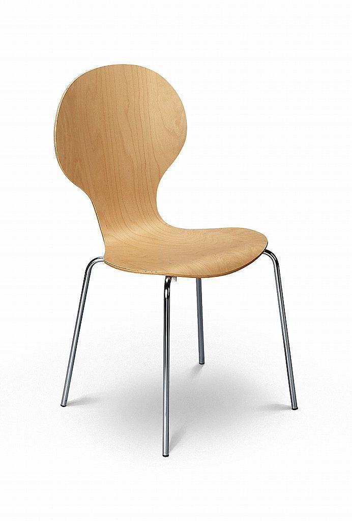 Julian Bowen - Keeler Maple Dining Chair