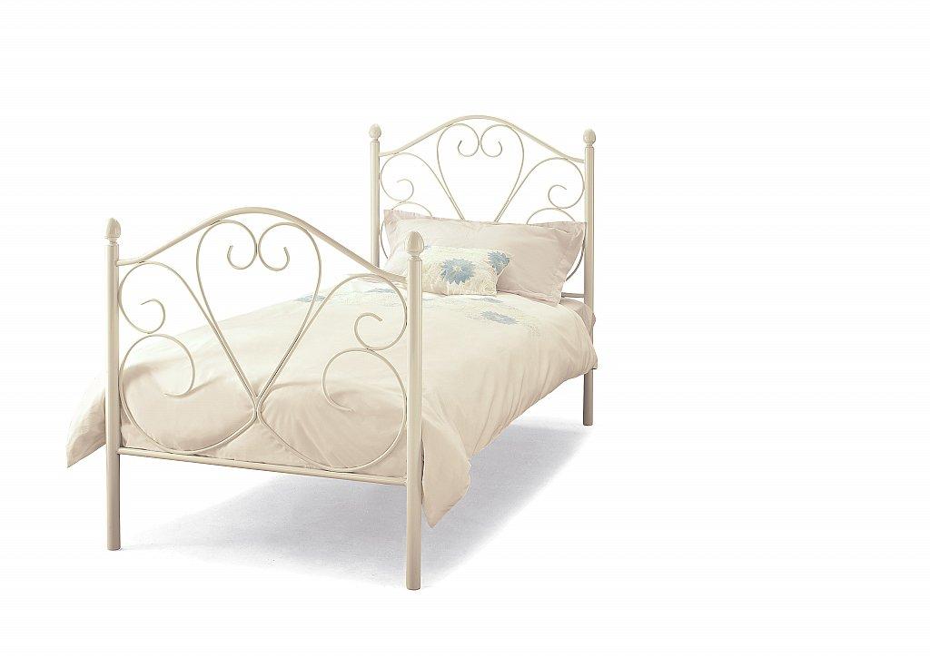 Serene - Isabelle Bedstead in White Gloss