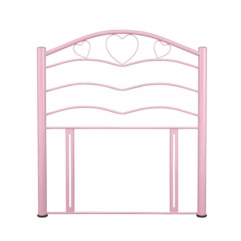 Serene - Yasmin Headboard in Pink Gloss