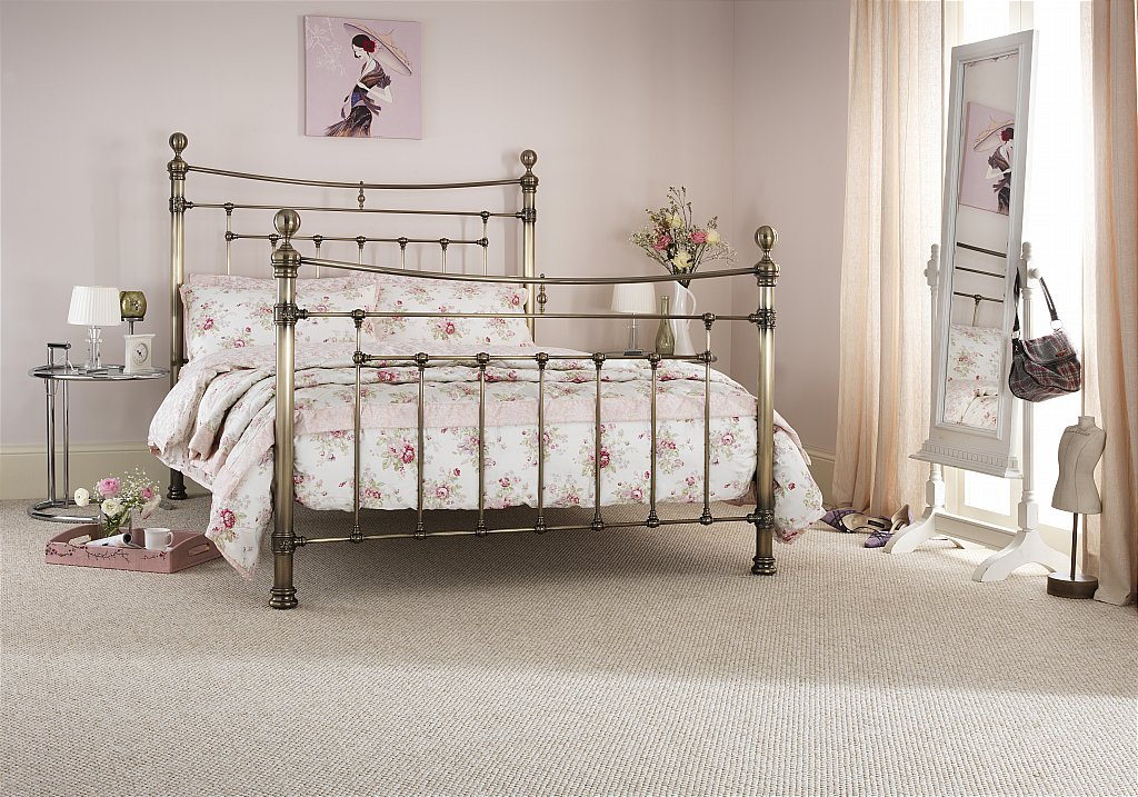 Serene - Edmond Bedstead in Brass