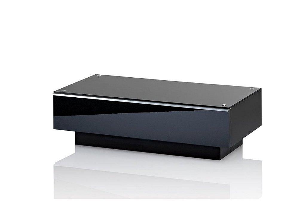 UK-CF - Ultimate G-DRW 86 Black TV Stand