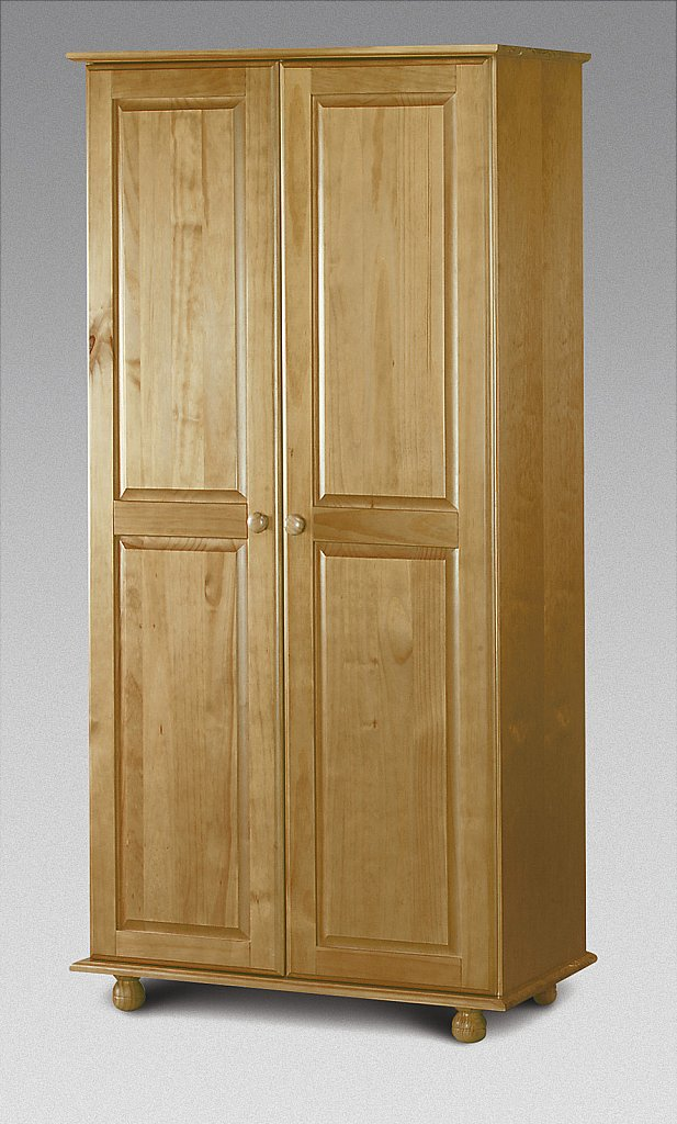 Julian Bowen - Pickwick 2 Door Wardrobe