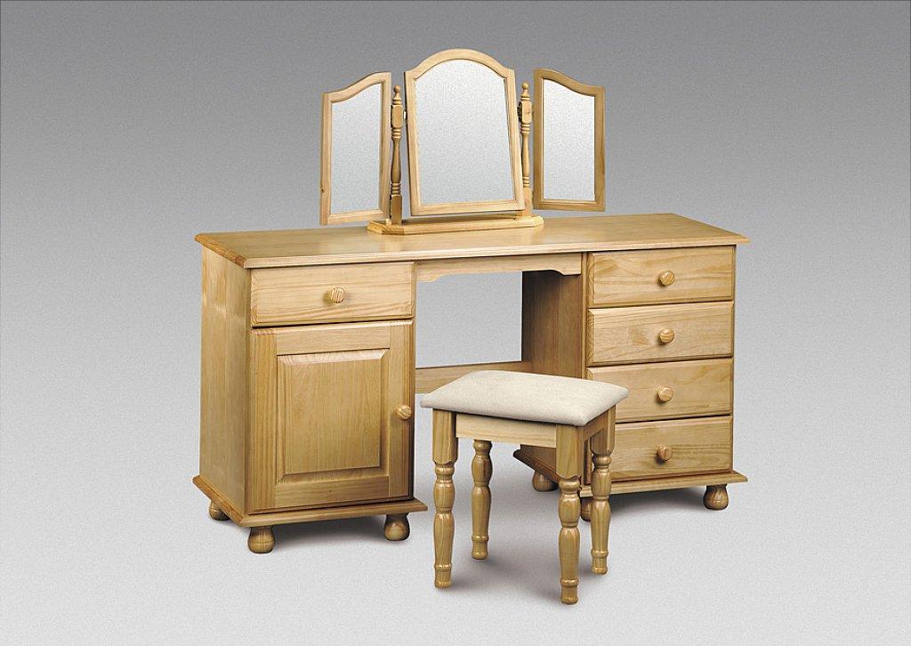Julian Bowen - Pickwick Twin Pedestal Dressing Table