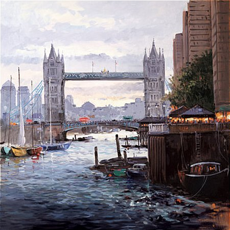 Henderson Cisz - Tower Bridge Painting