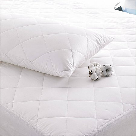 The Fine Bedding Company - Deep Fill Cotton Mattress Protector