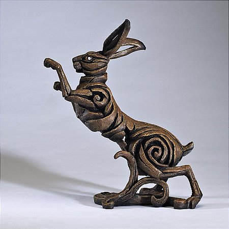 13697/Edge-Sculpture/Hare-Cold-Cast-Marble-Resin