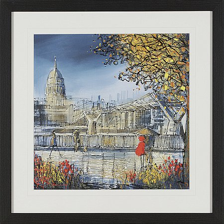 13930/Artko/Bridge-To-St-Pauls-Framed