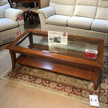Selva - Timeless Glass Coffee Table