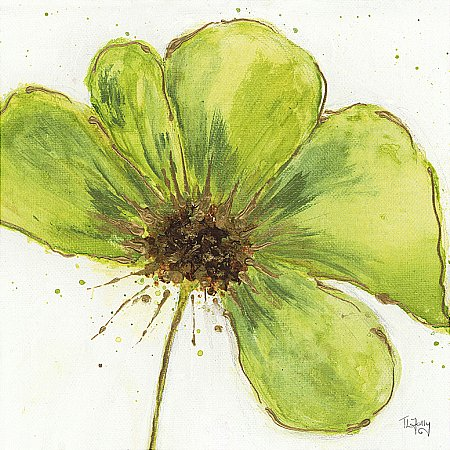 14458/Artko/Green-Flower-Canvas-Picture
