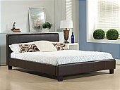 Time Living - Hamburg Brown Bedstead